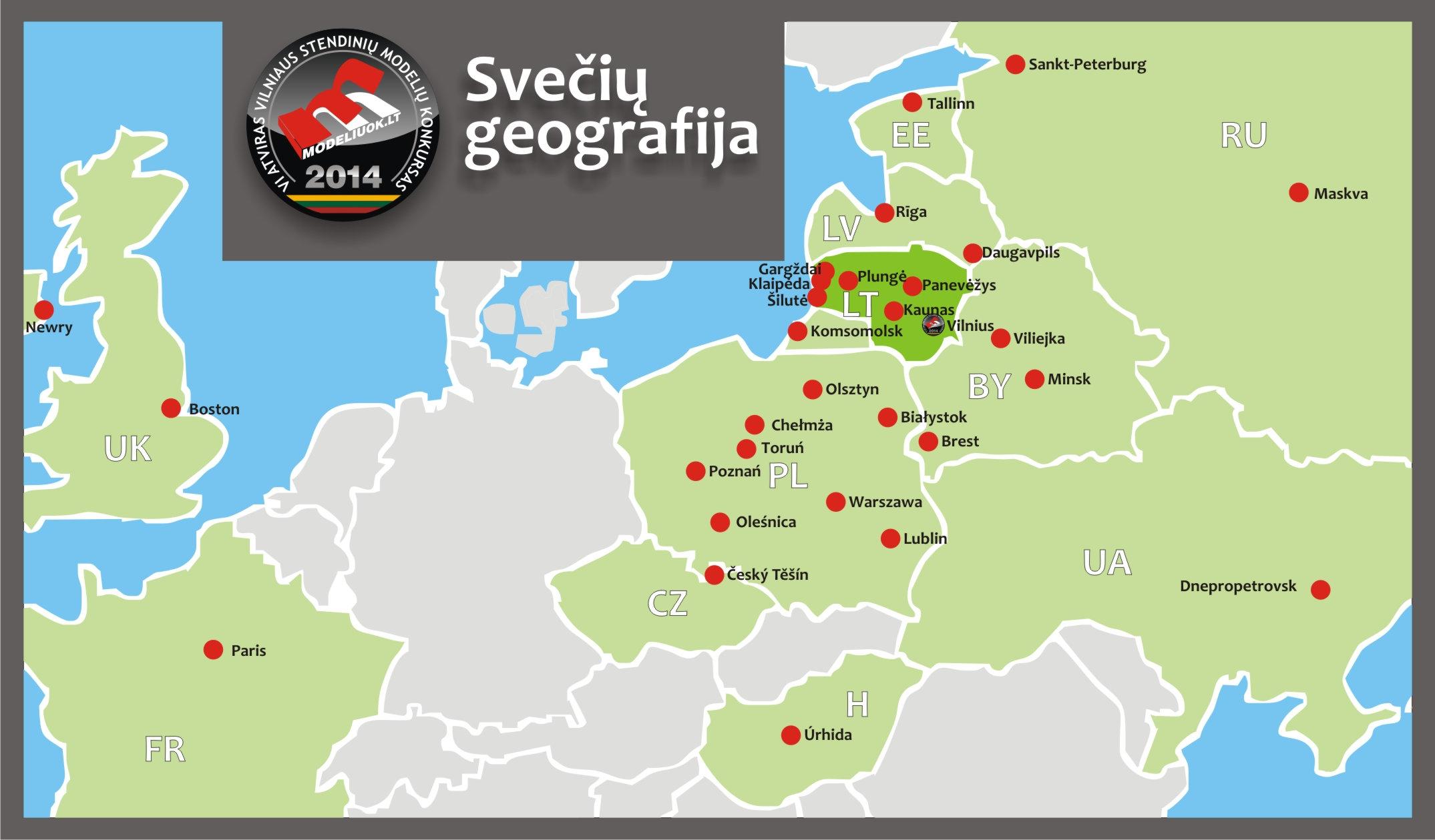 dalyviu geografija 2014 2